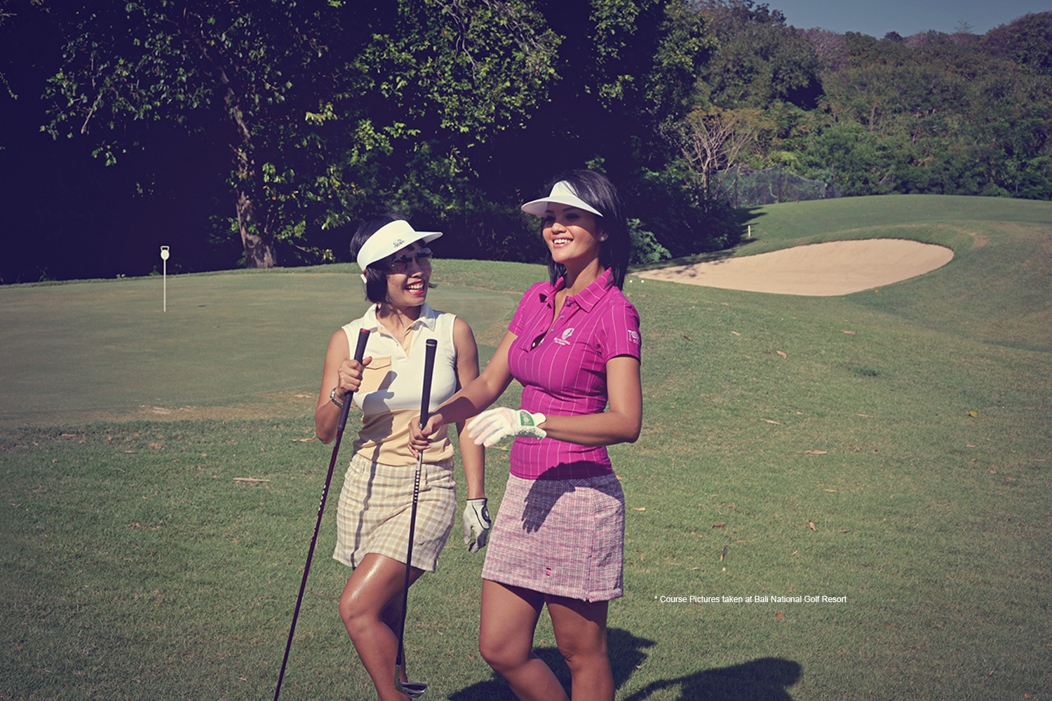 golf course julia and farah quinn
