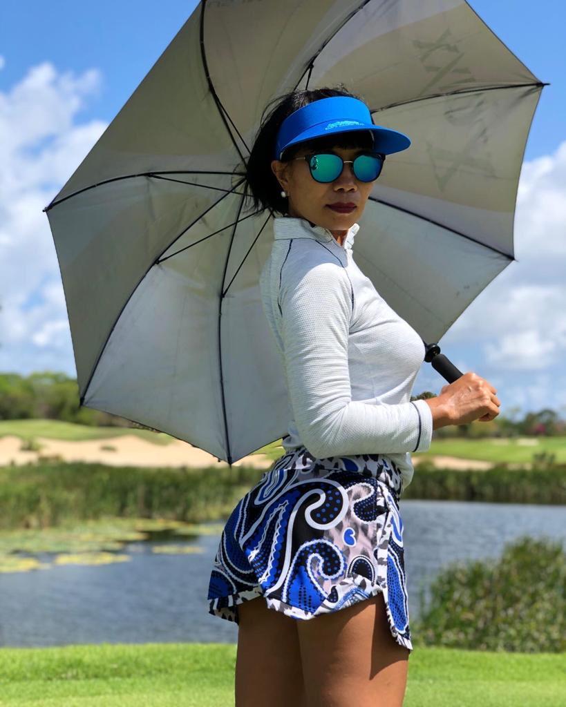 Golf Blue Visor