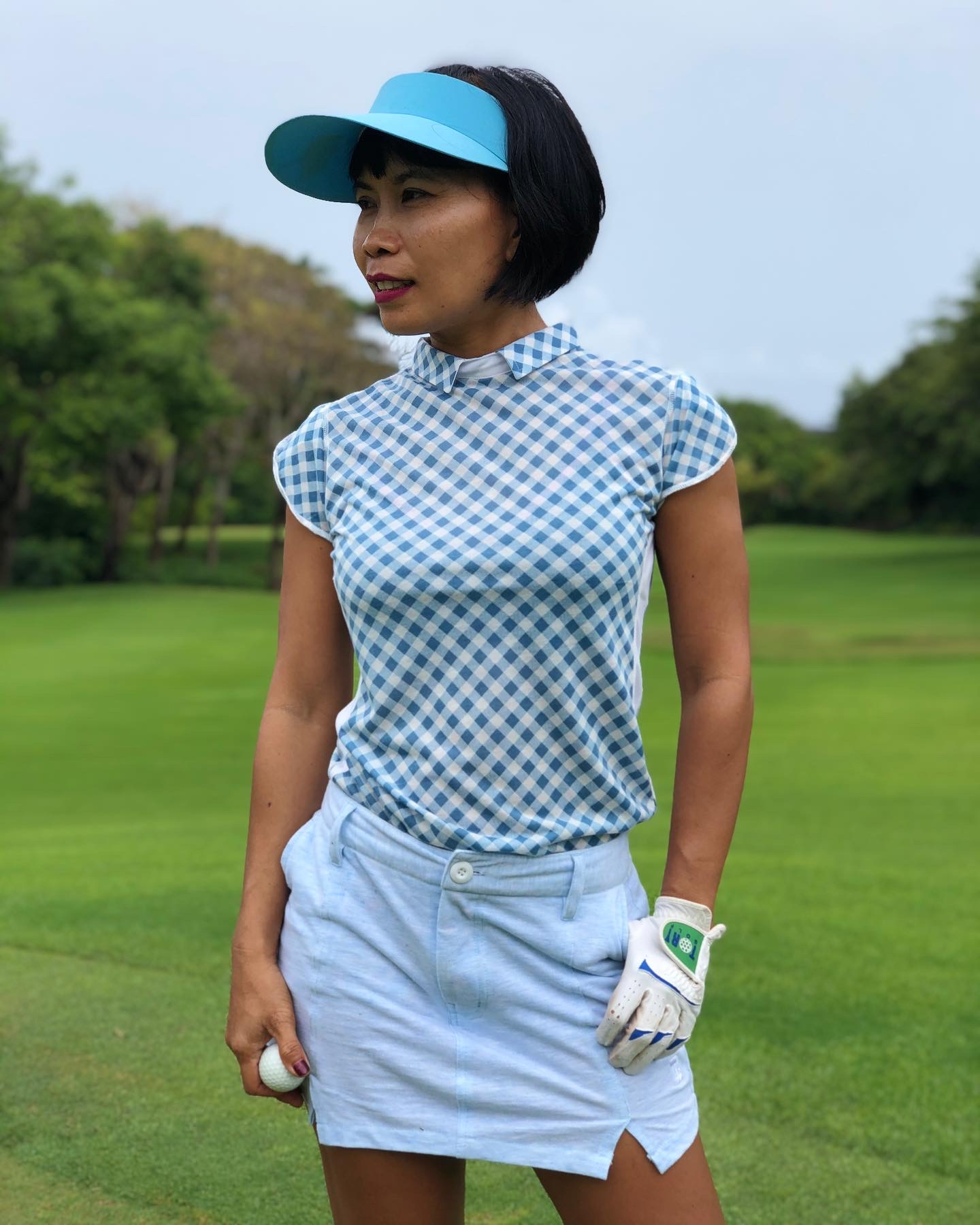Women's Golf Clothes Golf T Shirt Short-Sleeve Polo