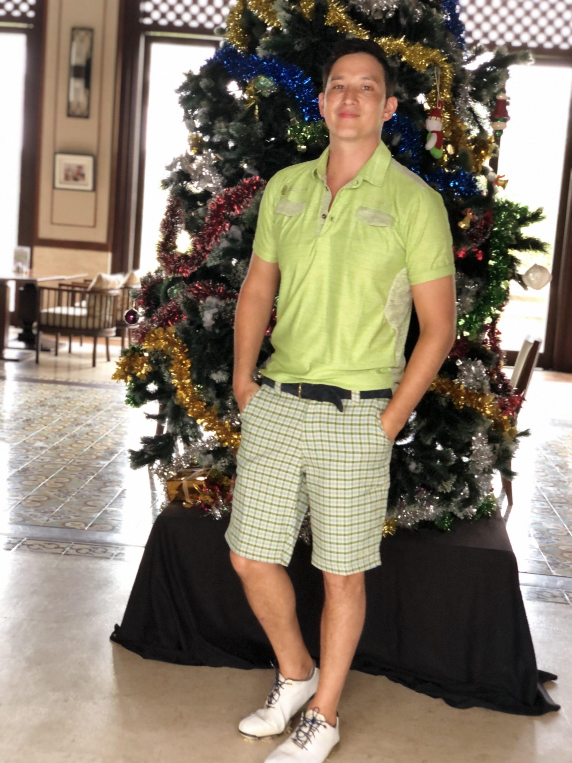 Green Polo Shirt Top
